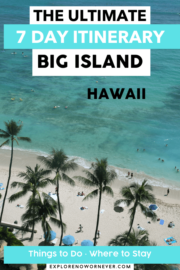 text overlay on Hawaii beach photo