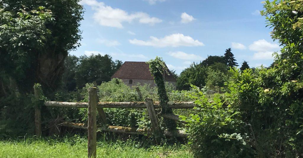 farmlands in Normandy