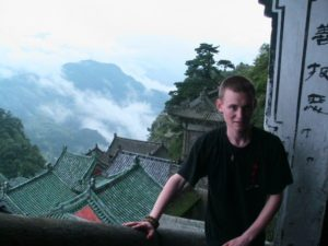 photo of Will Wain-Williams in Asia