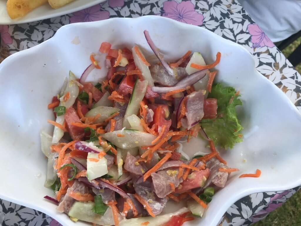 best restaurants moorea travel photo of poisson cru