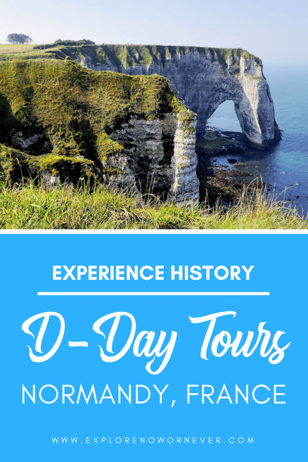 Step back in time and honor the fallen with a fascinating historical tour of the D-Day sites in Normandy, France. Includes ideas on where else to visit before or after your trip, interesting historical facts and information, and much more. This day trip from Bayeux is a must for any traveler interested in history! #Normandy #DDay #NormandyFrance #FranceTravel #Europe #History