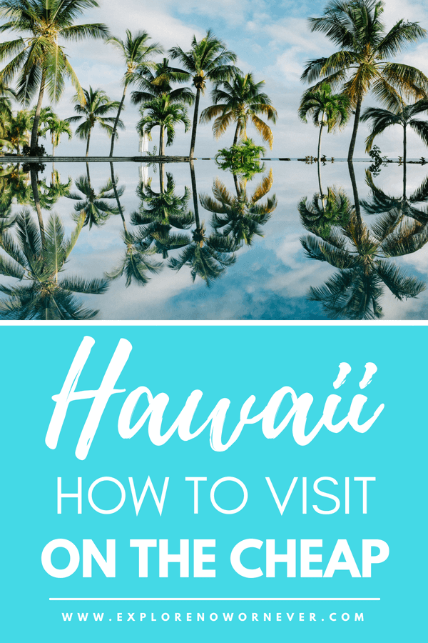 Ready to explore the gorgeous state of Hawaii but want to stick to a budget and save some money? Check out our helpful guide to budget travel in Hawaii, featuring tips on how to save money on accommodations in Hawaii, where to eat, hidden gems, fun activities and more! #Hawaii #BudgetTravel #IslandLife #Travel #USATravel #HawaiianVacation #SaveMoney