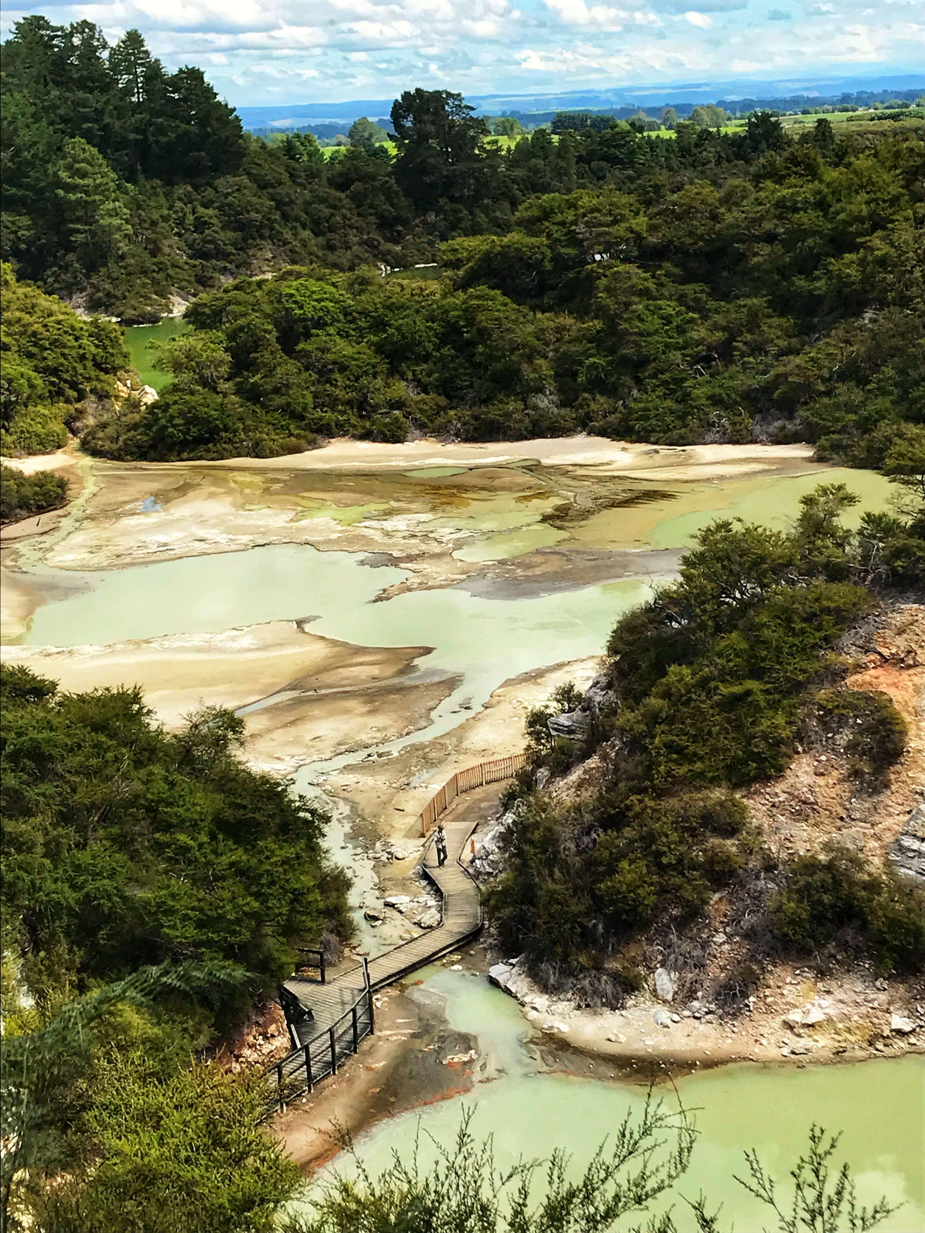 Wai o Tapu Thermal Wonderland Park