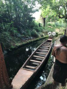 traditional Maori canoe