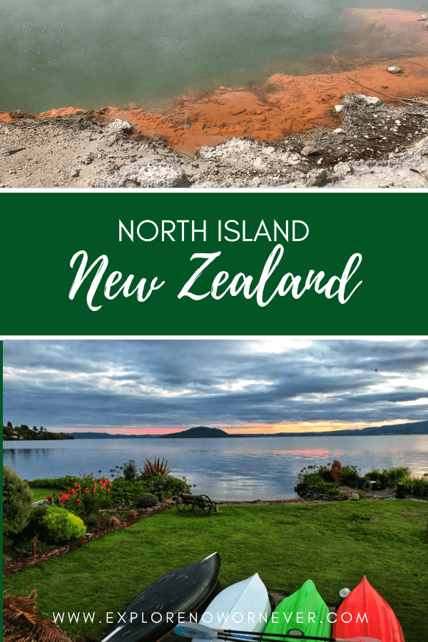 "See New Zealand North Island ""Must-Sees"": The stunning Waitomo Glowworm caves, Wai o Tapu Thermal Wonderland Park and Maori culture #Newzealdnorthisland #newzealandnorthislandthingstodo #newzealandnorthislanditinerary"