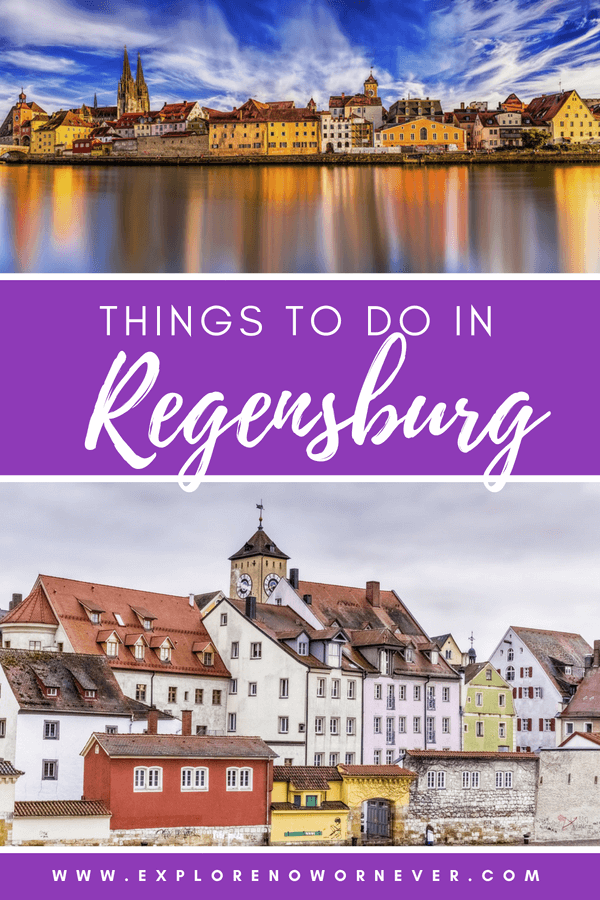 Experience the medieval town of Regensburg, Germany and get all of our top travel tips for making the most of your time in this beautiful area! Includes ideas on how to embrace slow travel, soak up the local culture, and find the best places to eat in Regensburg. #Germany #Travel #Bavaria #Medieval #GermanyTravel #Regensburg #WhatToDoRegensburg #SlowTravel