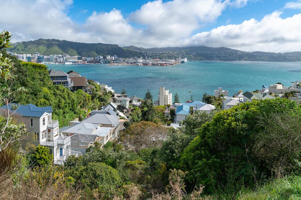 View of Wellington Harbor