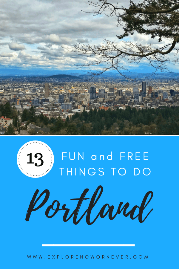 This is the ultimate guide to free and fun things to do in Portland, Oregon! Experience this beautiful gem of the Pacific Northwest through delicious food, stunning parks, thought-provoking art, relaxing bike rides, and much more. #Portland #ThingsToDoPortland #Oregon #Travel #PortlandOregonThingsToDoIn #PortlandOregonFood