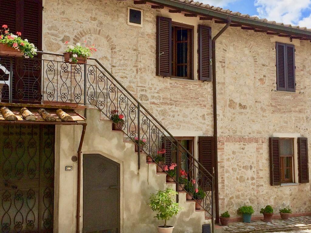 stone Tuscan farmhouse