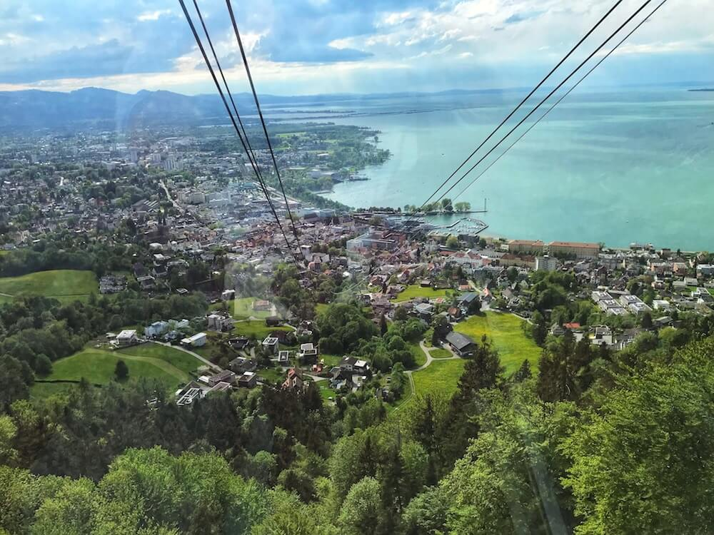 view of city and lake Constance