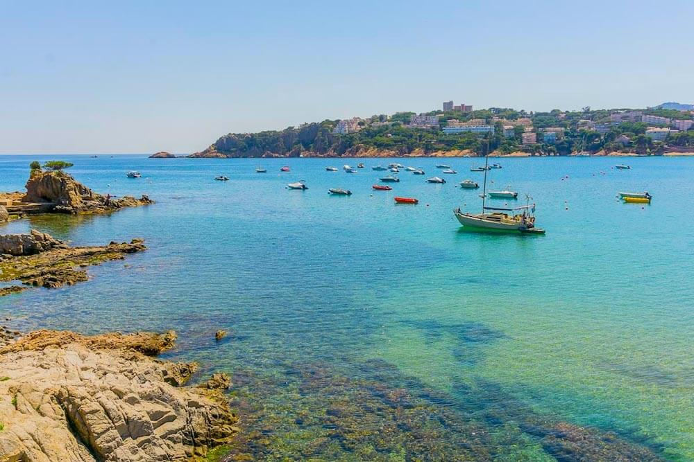 Costa Brava Spain coastline