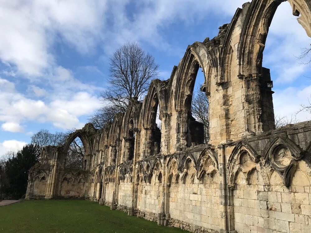 Ruins in York, England
