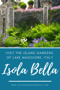 Flying in or out of Milan, Italy? Stresa on Lake Maggiore is the perfect place to get over jetlag or decompress before a long flight home. Includes where to eat, stay, and how to see the incredible gardens on Isola Bella. #Stresa #Italytravel #IsolaBella #travel
