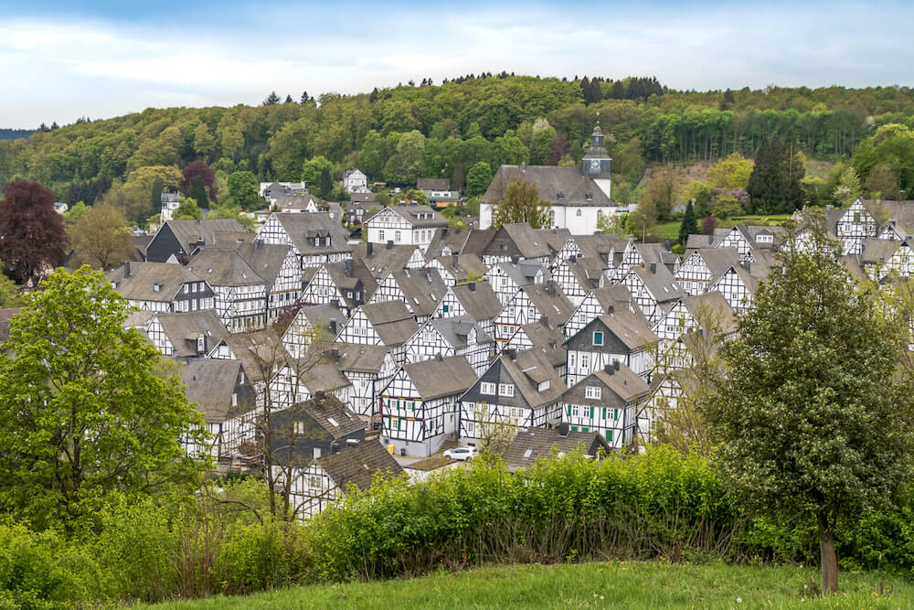 village in Freudenberg Germany