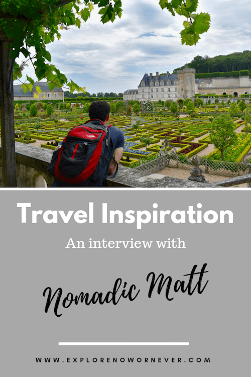 Interview with Nomadic Matt