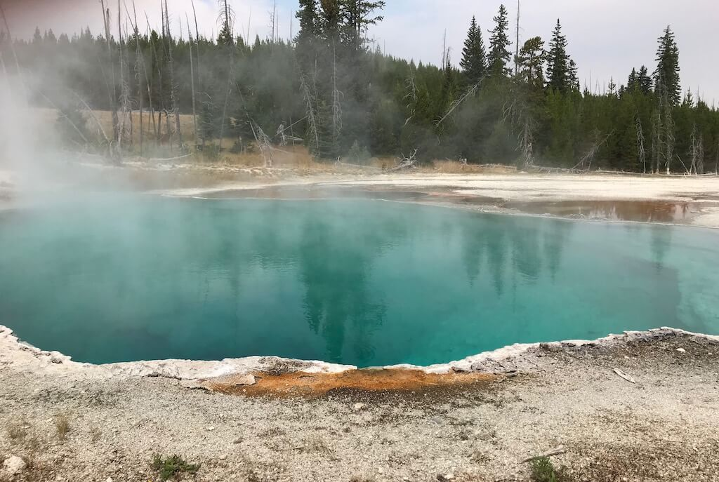 North Geyser Basin