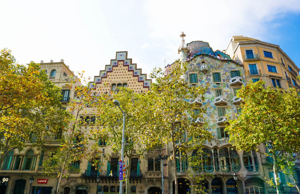 Gaudi Barcelona travel more