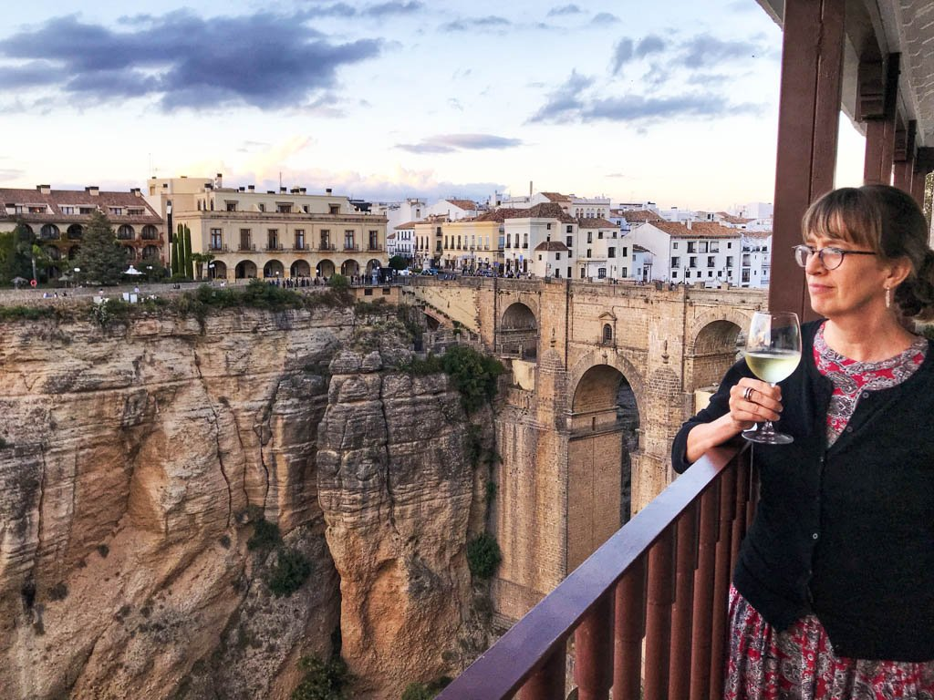 Travel photo of the gorge in Ronda, Spain