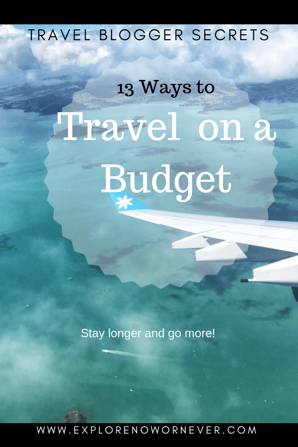 Wondering how to afford travel so you can travel more? Do what expert travel bloggers do! Click here to read their top 13 brilliant travel hacks and learn how you can see MORE of the world for LESS. #howtoaffordtravel #howtoaffordtraveling #howtoaffordtraveltips #travelmoreforless #howtotravelmore #howtotravelmoretips #howtotravelmorebudget