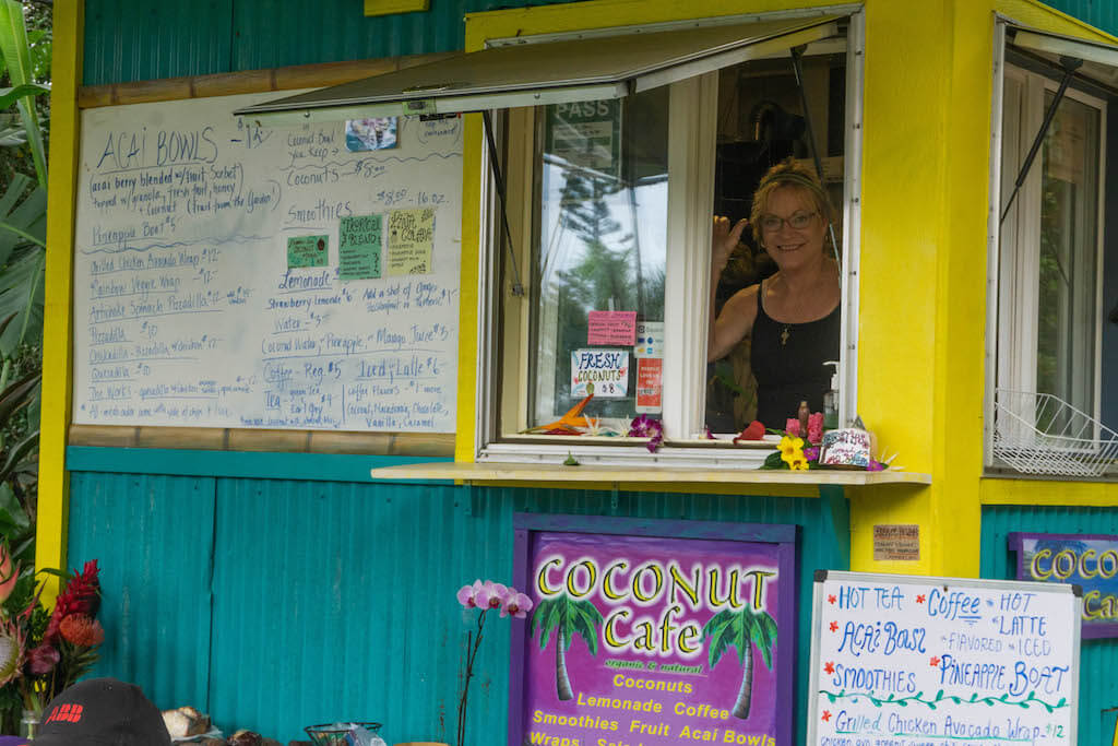 Coconut Cafe Road to Hana