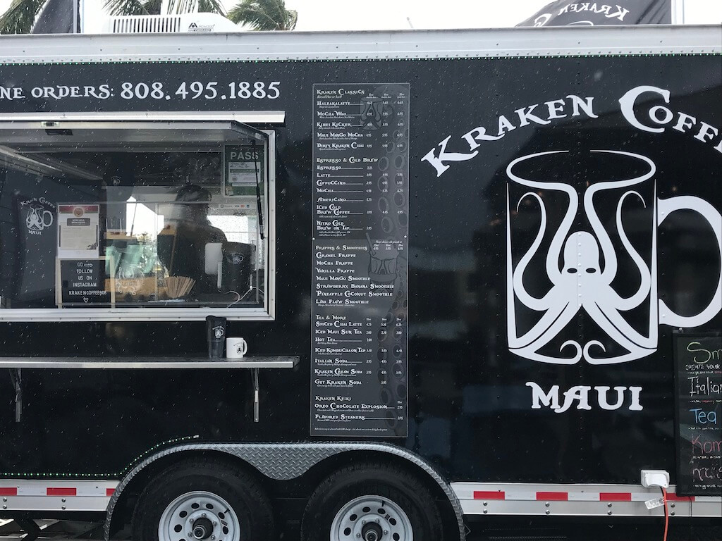 Kraken Coffee food truck