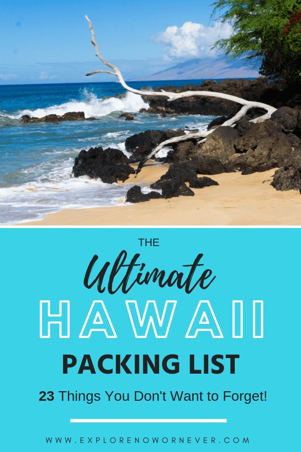photo relating to Printable Packing List for Hawaii named What in the direction of Pack for Maui: 31 Crucial Solutions for a Excellent