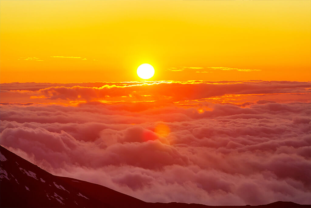 Mount Haleakala sunrise hawaii bucket list