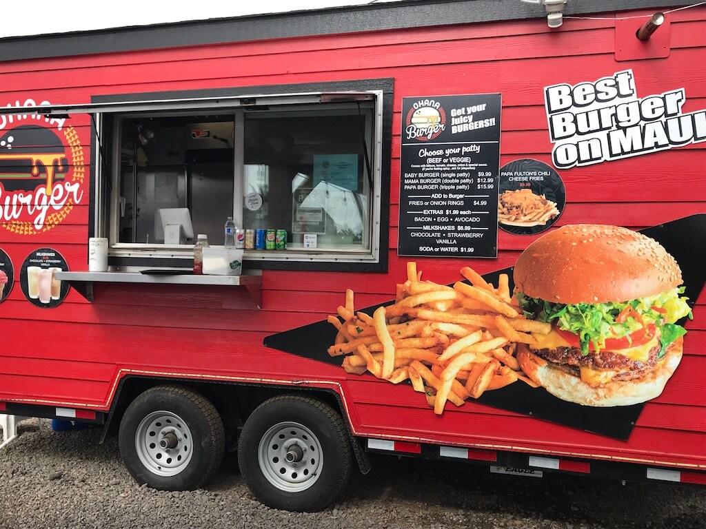 Ohana burger food truck
