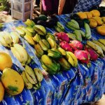fruit at Maui Food carts