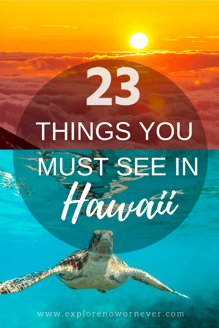 The ULTIMATE Hawaii bucket list! From helicopter tours to snorkeling with sea turtles, top travel bloggers share their favorite things to do on every Hawaiian island. #bucketlist #Hawaii #Hawaiitravel #hawaiivacation #hawaiiwhattodo #hawaiithingstodo #Maui #Kauai #bigisland #oahu #lanai #molokai