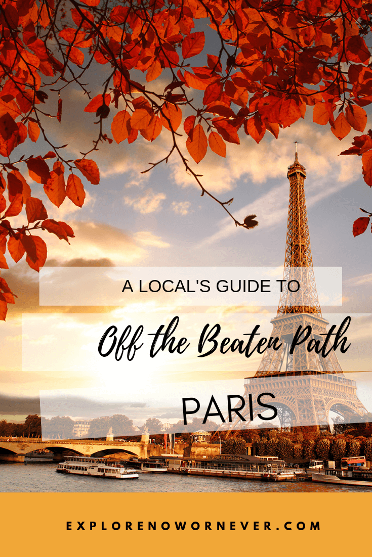 Skip the tourist crowds and see Paris like a local! Click here for a 36 hour itinerary to visit the bakeries, restaurants, parks, and monuments locals love best. #francetravel #paristrael #paristraveltips #paristravelplaces #parisoffthebeatentrack #parisoffthebeatenpath #europetravel