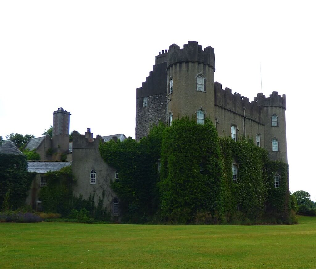 travel photo of ivy covered castle