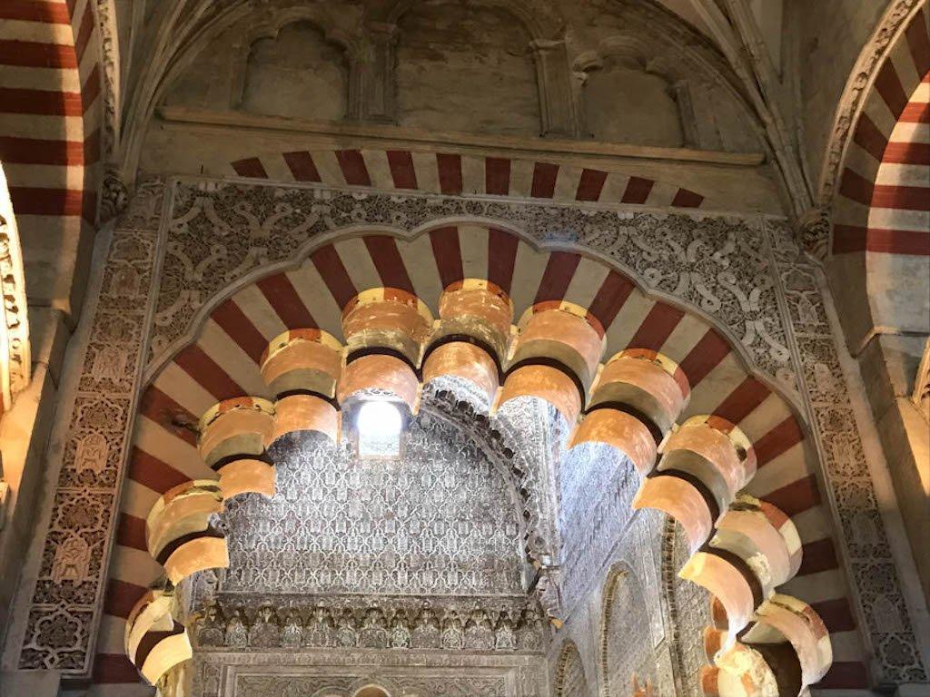 Mezquita Cordoba interior