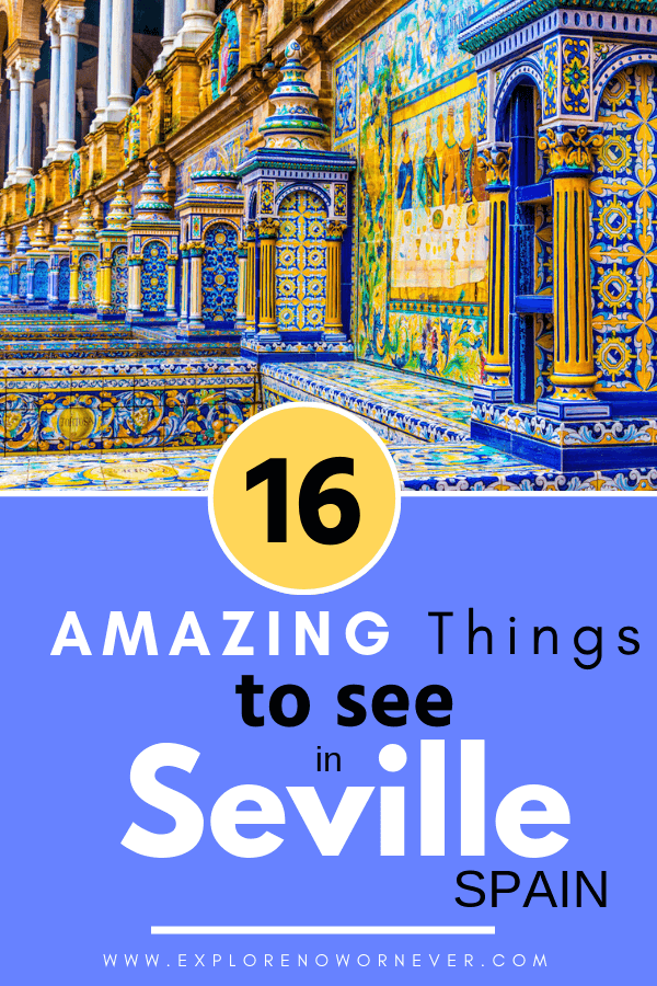 This is the ULTIMATE travel guide to the best things to do in magical Sevilla Spain! Click here for 16 of the most incredible experiences in the city…assembled by top travel writers. From the stunning Alcázar Palace to the best flamenco in Seville, we've got you covered. #sevillaspain #sevillaspainthingstodo #spaintravel #spaintravelguide