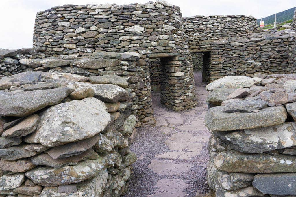 homes built out of stones