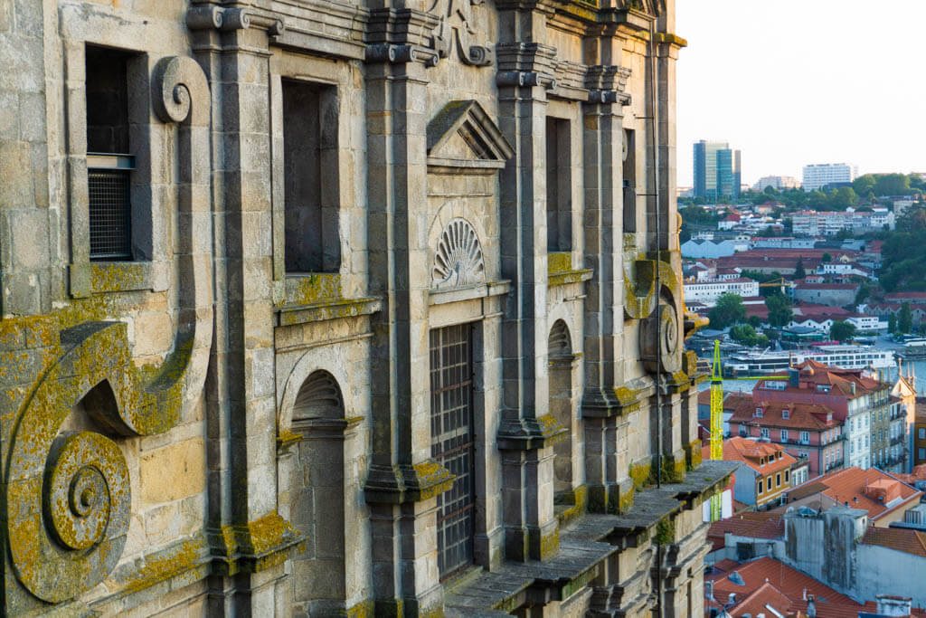 side of Porto Cathedral with city view