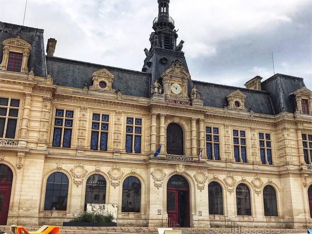 Hotel de Ville in Poitiers