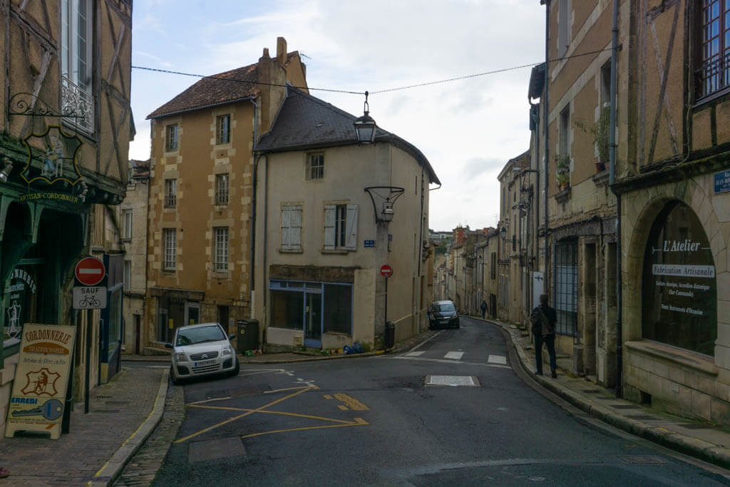 Poitiers streets