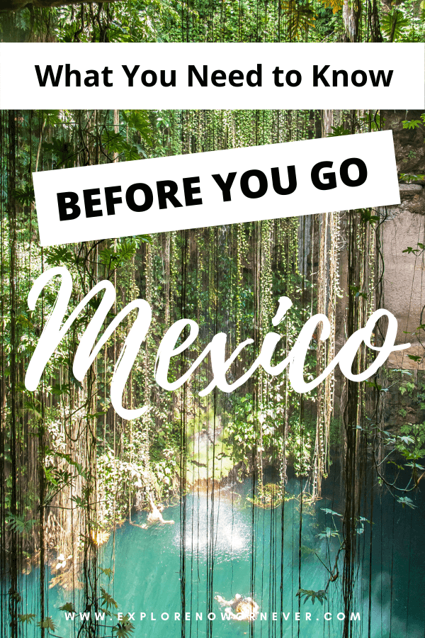 Going to Mexico? Read 15 top Mexico travel tips from travel blogger experts: What you need to know about safety, money, travel insurance, and more! Mexico travel | Mexico travel tips | Mexico travel insurance | How not to get sick in Mexico | Mexico City | Mexico beaches | Mexico vacation