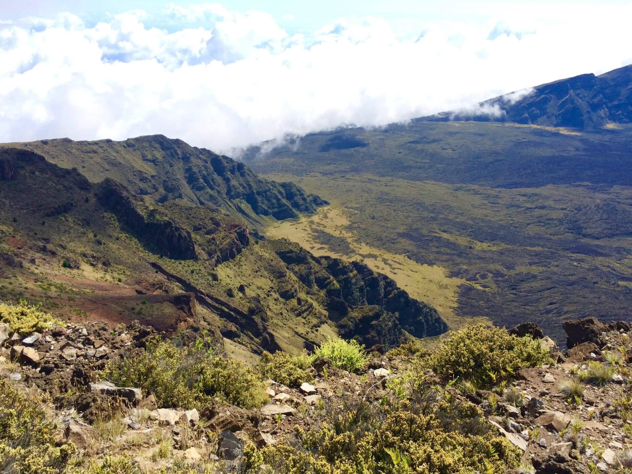 rocky and green visit near Mount Haleakala