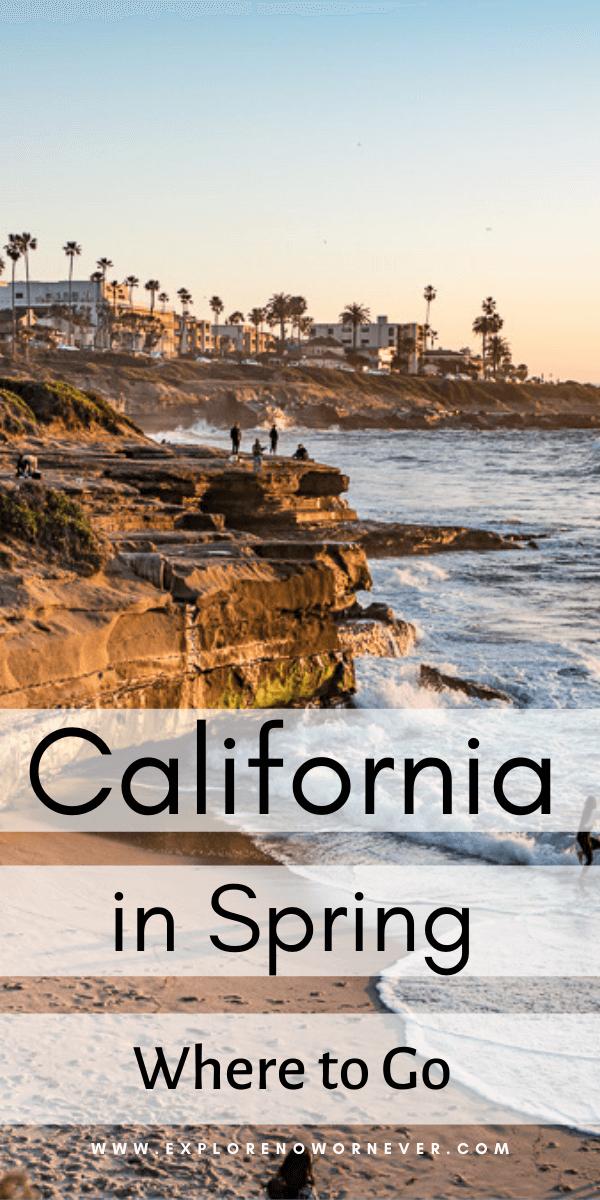 text overlay on travel photo of La Jolla coastline