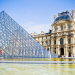"""glass """"dome"""" of the Louvre"""