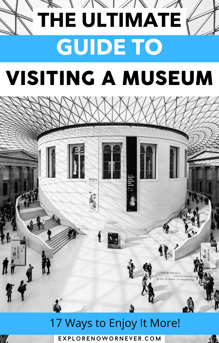 Looking for expert tips to get more from a museum visit? How to save money, skip crowds, and feel more wonder with less overwhelm. Travel tips | museum tips |Louvre museum tips | how to see a museum |Europe travel | Europe bucket list
