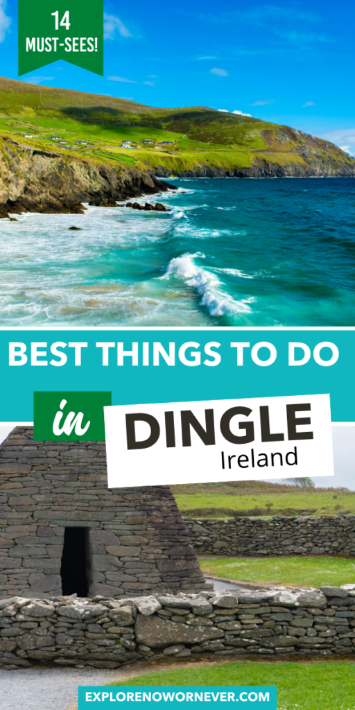 Looking for the most AMAZING things to do in Dingle, Ireland? This is a list of incredible drives, secret castles, UNESCO sites, and the very best pubs to hear Irish traditional music…according to locals who know! Things to do in Dingle Ireland | Best things to do in Dingle | Ireland bucket list | Ireland travel tips