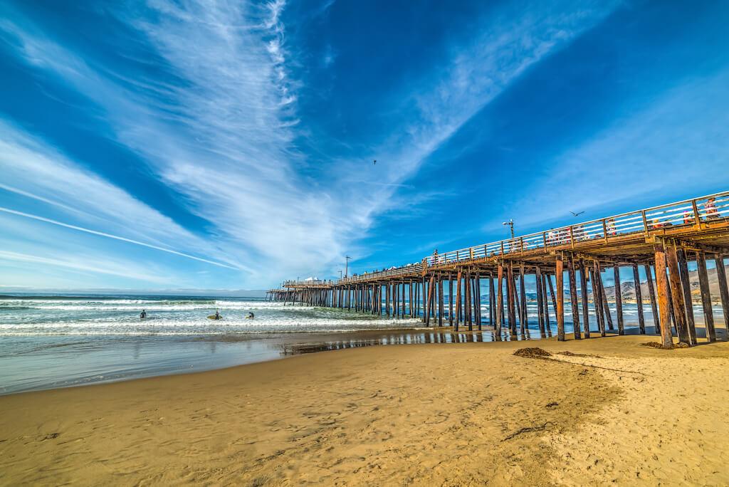 Pismo Beach in October