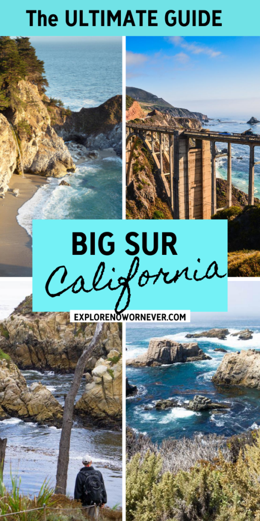 Looking for bucket list experiences in Big Sur, California? Here's where to hike, eat, stay, and enjoy the very best scenic views on your drive. Thing to do in Big Sur California | Things to do in Carmel California | California bucket list | USA road trips | California travel tips