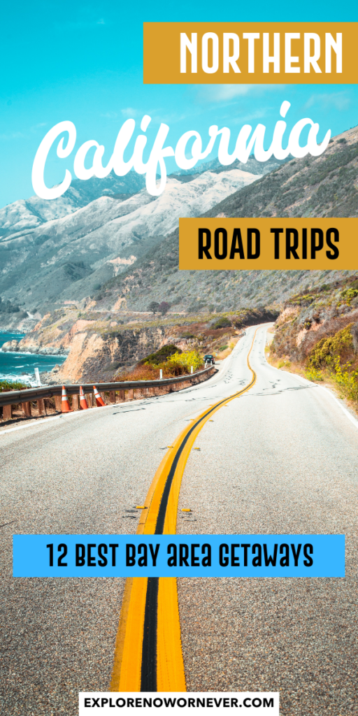 Looking for the perfect Northern California getaway? Whether you're looking for road trip from San Francisco or a weekend vacation, you'll find all the best ideas here. USA road trip ideas | California travel tips | Northern California travel | Northern California road trips | weekend getaway ideas | day trips from San Francisco