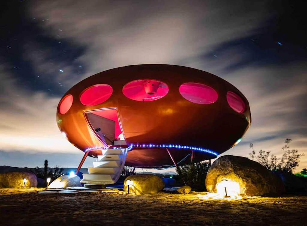 Flying saucer tiny house