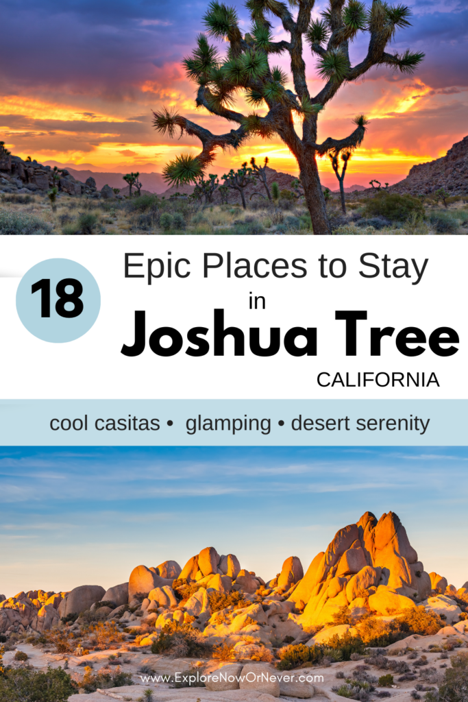 Heading to Joshua Tree? From vintage Airstreams and cozy cabins to luxe retreats and a stargazer bubble, this is a list of amazing Airbnbs that guests love most. Read more here. Where to stay in Joshua Tree | Best Joshua Tree Airbnbs | Joshua Tree travel tips