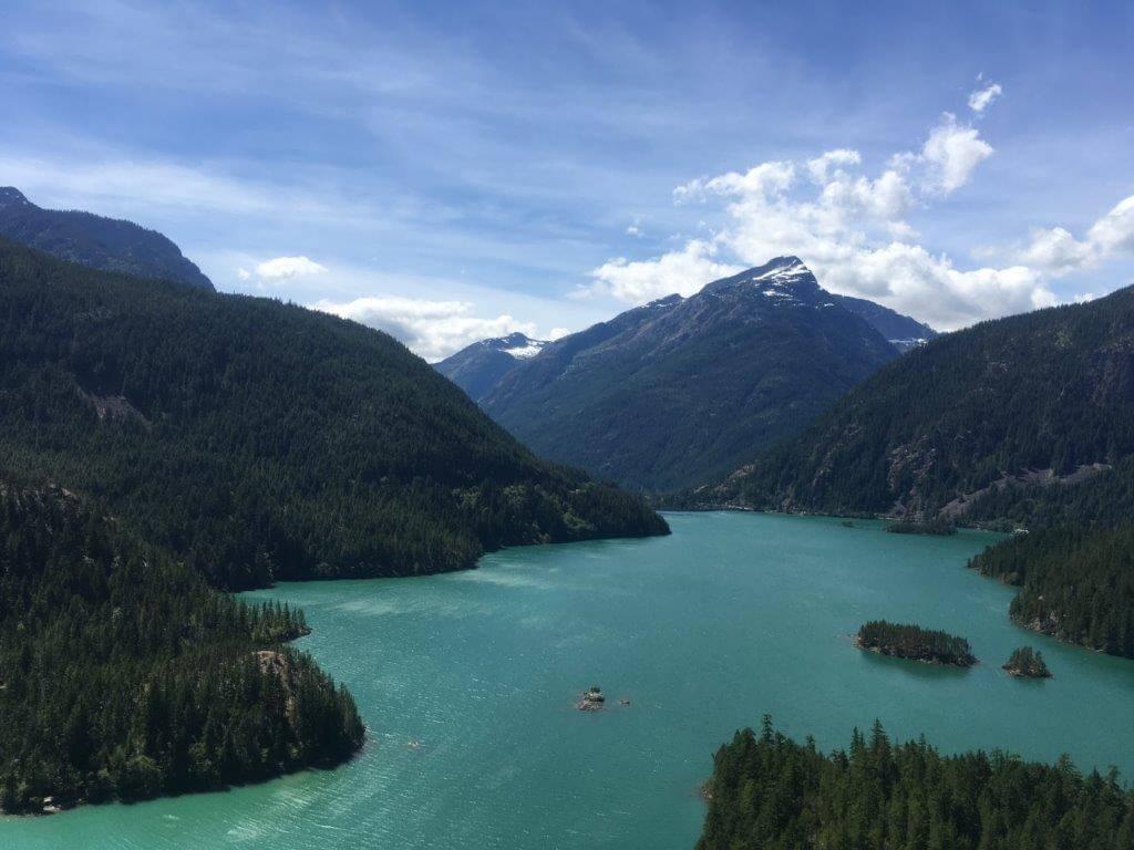 Lake at North Cascades National Park